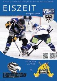 TSG Black Eagles vs. EKU Mannheim Mad Dogs 03022019