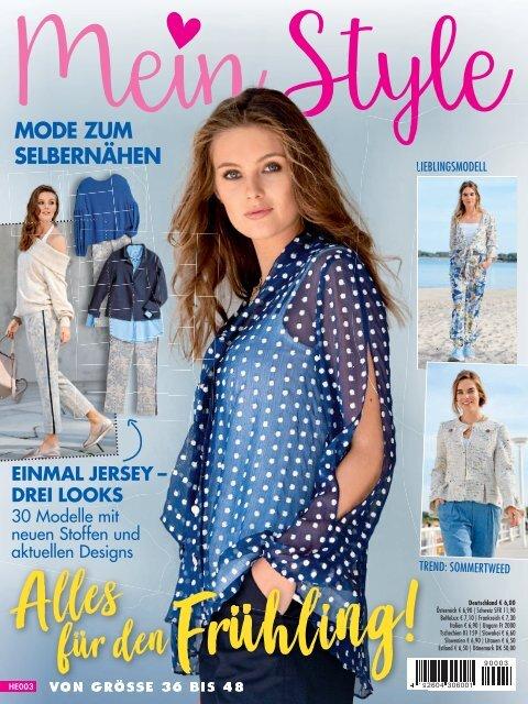 Näh-Zeitschrift: Mein Style - Alles auf Frühling (HE003)