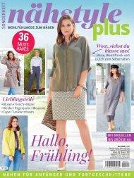 Näh-Zeitschrift: Nahestyle Plus (NY001)