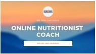 Online Nutritionist Coach with Rod Cartledge