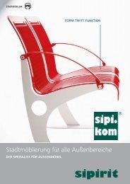 Aussenmöbel Spezialist | SIPIRIT GmbH Kommunalbedarf