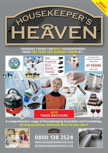Housekeepers Heaven Brochure 2019