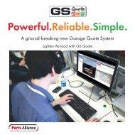 GS Quote Brochure