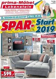 Spar-Start 2019 bei prima-Möbel, 07356 Bad Lobenstein