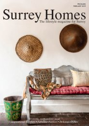 Surrey Homes | SH52 | February 2019 | Wedding supplement inside
