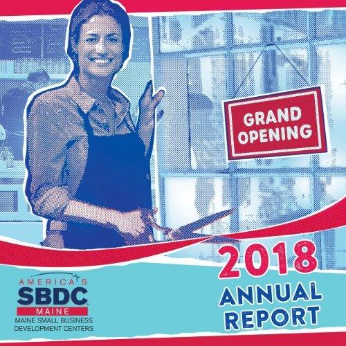 2018 Maine SBDC Annual Report