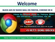 Block Ads In Yahoo Mail On Firefox, Chrome Or Ie Contact Number 1877-503-0107