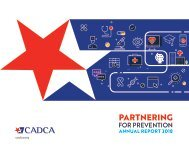 CADCA 2018 Annual Report