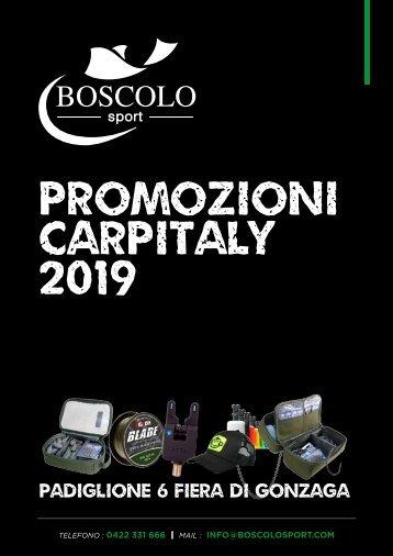 PROMOZIONI CARPITALY 2019 BOSCOLO SPORT