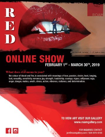 ROAM Gallery - The Red Show 2019
