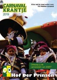 carnavalkrantje 2019