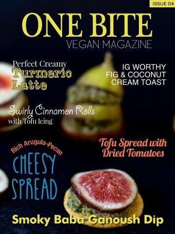 One Bite Vegan Magazine Issue 4