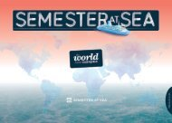 Semester at Sea Overview Brochure