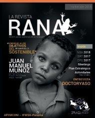 Revista RANA edicion 2018 - IFMSA Panamá APEMCONI