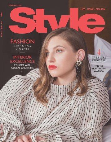 Style: February 01, 2019