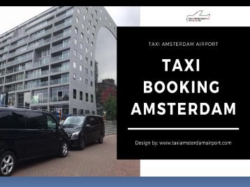Taxi Booking Amsterdam