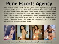 Pune Escorts Agency