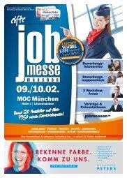 Der Messe-Guide zur 11. jobmesse münchen
