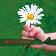 Gärtnerei Pfandl - Bad Ischl - Gartenbroschüre 2019
