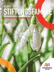 Stiftungsfamilie - Ausgabe 01/2019