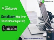 Troubleshooting QuickBooks for Mac Errors [Complete Guide]