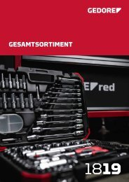 Gedore red Gesamtsortiment