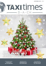 Taxi Times DACH - Dezember 2018