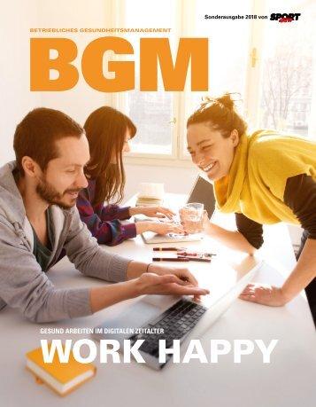 Betriebliches Gesundheitsmanagement Magazin 2018