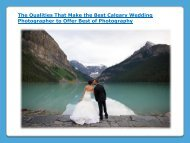 Best Calgary Wedding Photographer