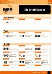 Kit Estabilizador Giraparts