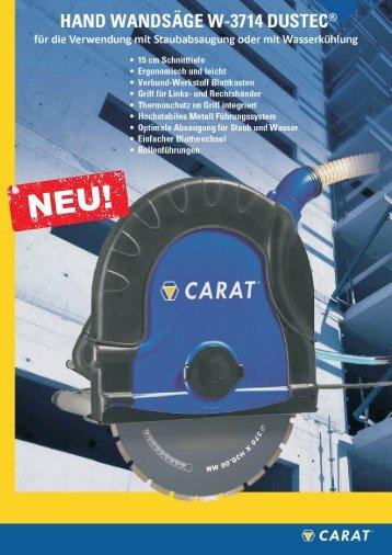 W-3714 CARAT Hand Wandsäge