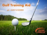 Best Golf training aid to improve your game