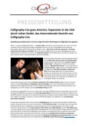 Pressemitteilung Calligraphy-Cut_Julian Seidel_Amerika