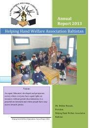 HHWAB Annual Report and certificates
