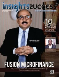 The 10 Most Acclaimed Micro Finance Companies