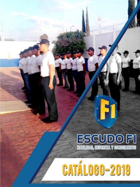 CATALOGO DE CURSOS POLICIALES  2019