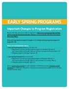 Upper Main Line YMCA Spring Program Guide 2019 - Page 2