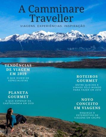 A Camminare Traveller - Viagens de Experiências, Gastronomia e Lifestyle Ed 01