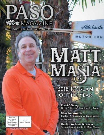 2019 February Paso Robles Magazine