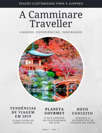 A Camminare Traveller Jusprev- Viagens de Experiências, Gastronomia e Lifestyle Ed 01