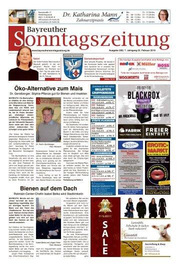2019-02-03 Bayreuther Sonntagszeitung