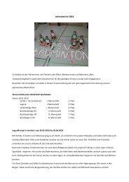PSV-Badminton-Jahresbericht- 2018