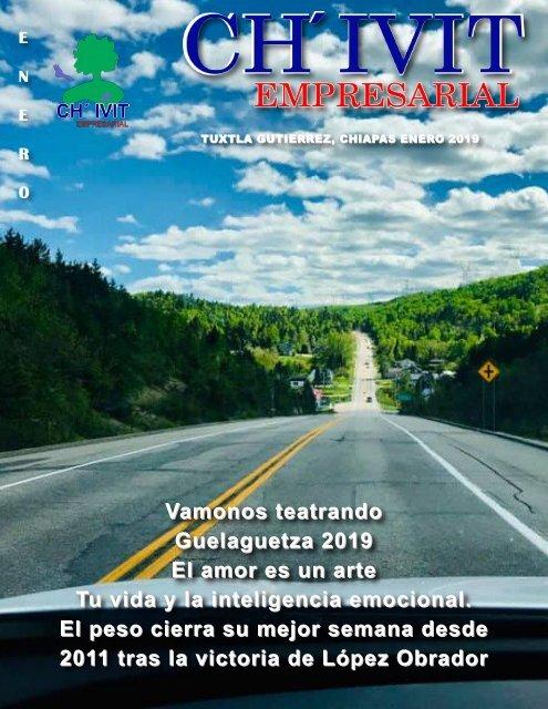 Revista Ch´ivit Empresarial enero 2019.