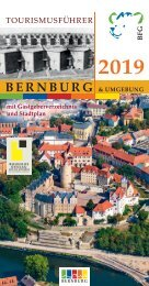Tourismusführer Bernburg 2019