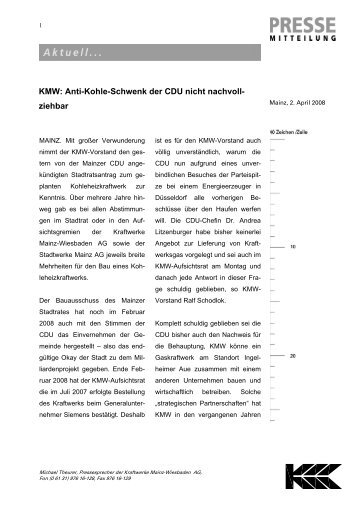 Download PDF - Kraftwerke Mainz Wiesbaden AG