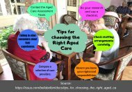 Tips for Choosing the Right Aged Care