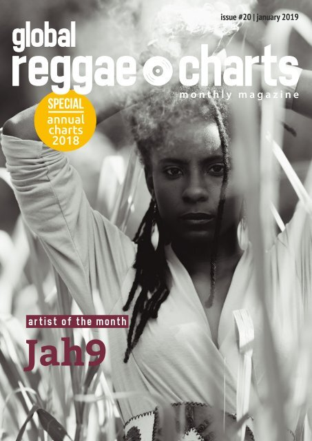 Global Reggae Charts - Issue #20 / January 2019