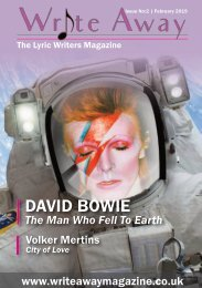Write Away Magazine - Issue No:2