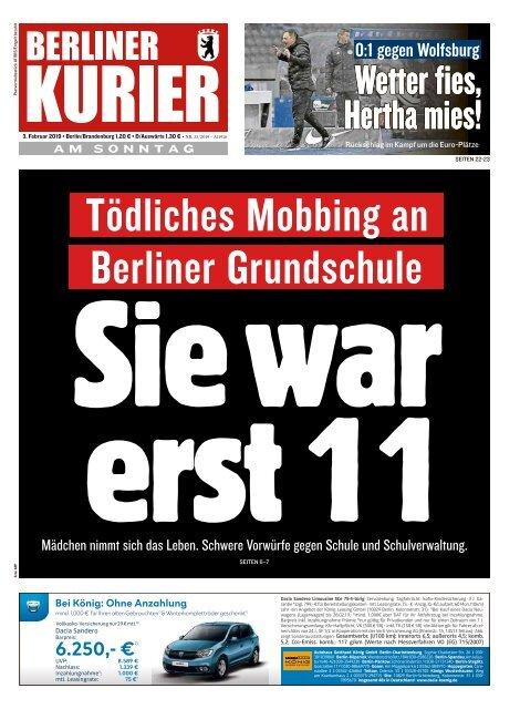 Berliner Kurier 03.02.2019