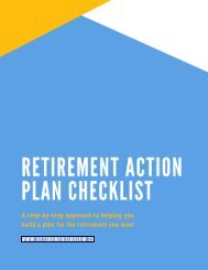 A Step-By-Step guide to help beginner's start planning for retirement in Canada